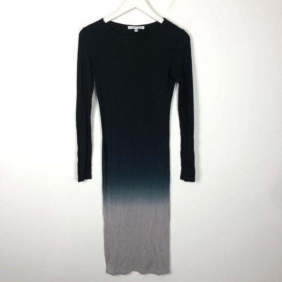 Young Fabulous & Broke ombré long sleeve dress